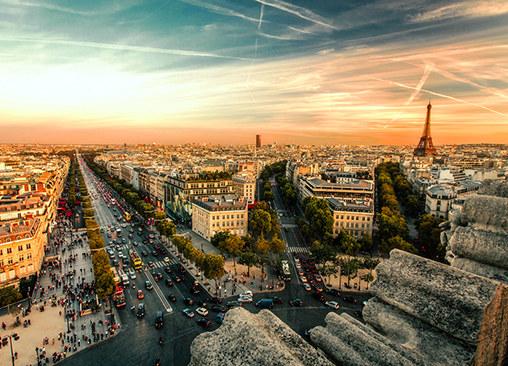 梦幻大巴黎 看动人瞬间记录独特之美