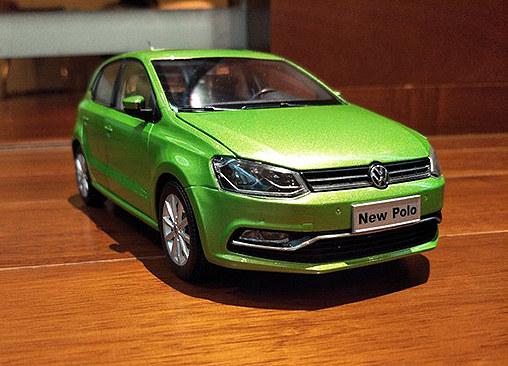 车模欣赏 new polo原厂(1:18)模型